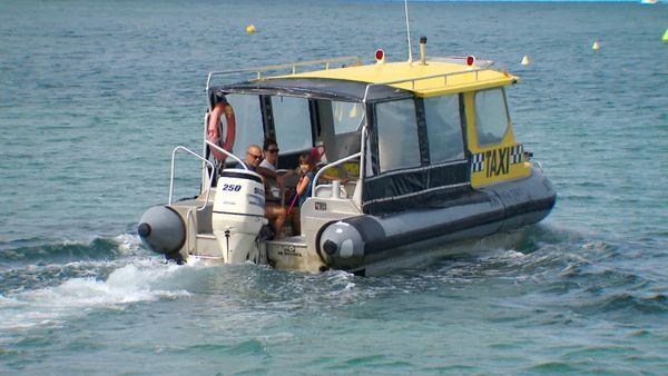 Déconfinement progressif, bateau taxi, 25 avril 2020