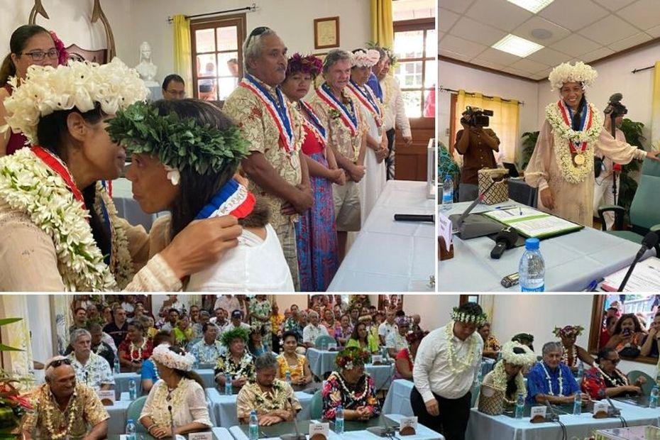 Arue, Teura Iriti élue maire...en sursis