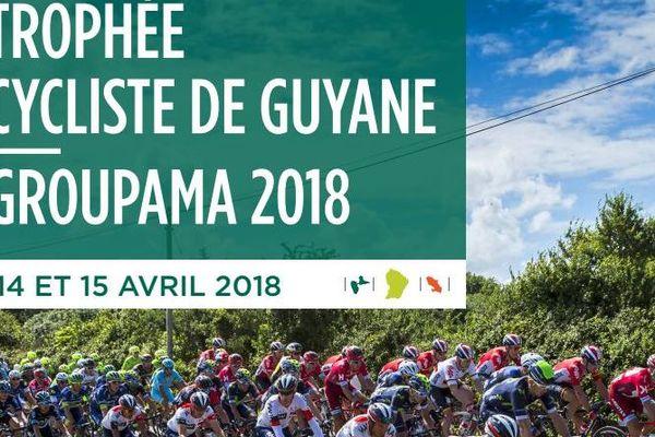 Affiche Trophée Cycliste de Guyane Groupama 2018