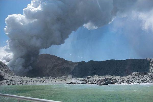 Volcan de White Island