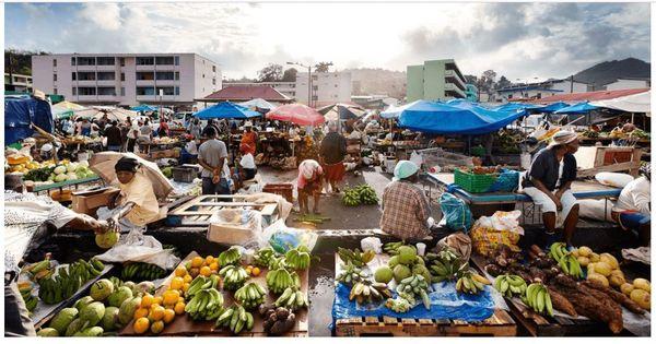 Sainte Lucie marché