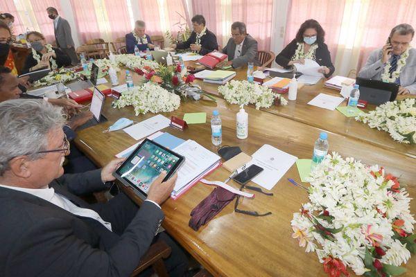 Conseil  des ministres décentralisé à Raiatea