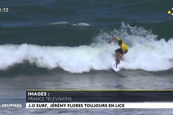 Des hauts et des bas pour les surfeurs français aux JO