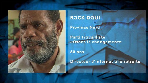 Fiche candidat Rock Doui