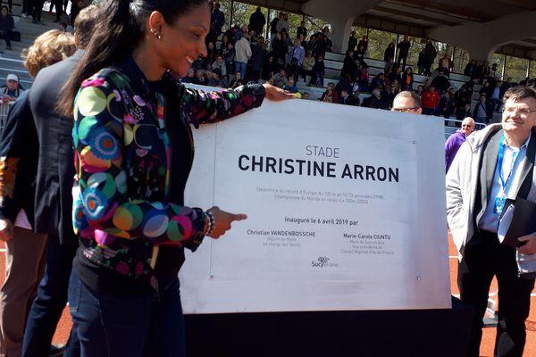 Christine Arron : un stade au nom de l'ancienne athlète guadeloupéenne