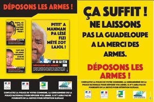Déposons les armes Guadeloupe