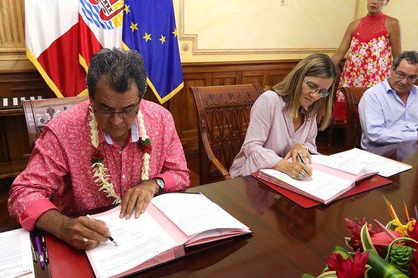 Convention Pays-UPF - Histoire et mémoire des essais nucléaires en Polynésie française