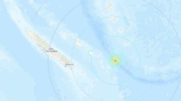 Localisation du séisme de 11h28, le 16 octobre 2018.