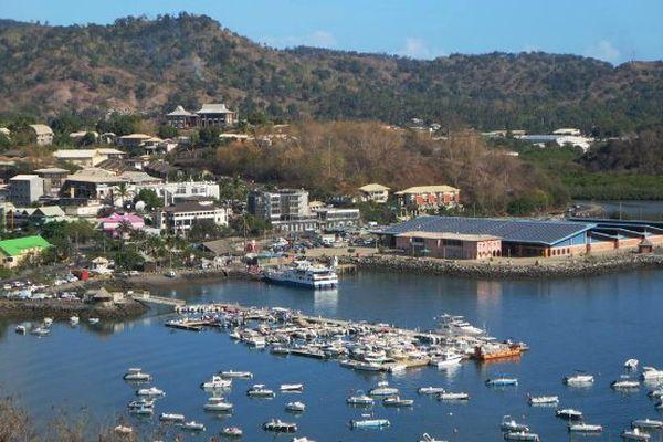 A Mayotte, c'est le port de Mamoudzou qui est le plus photographié.