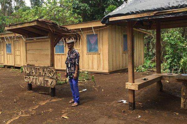 Vanuatu Santo réfugiés Ambaé