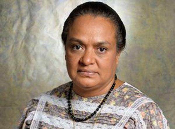 Henriette Hmae-Tidjine, chef de Groupe de l'UC-FLNKS en Province Nord