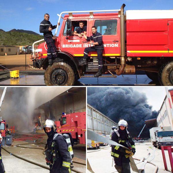 De Nouméa à Paris, Sébastien est pompier depuis 9 ans