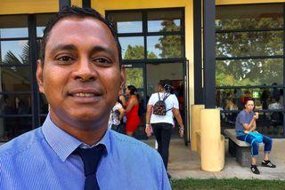Jimmy Sélambarom, le Vice-président de l'Université de La Réunion