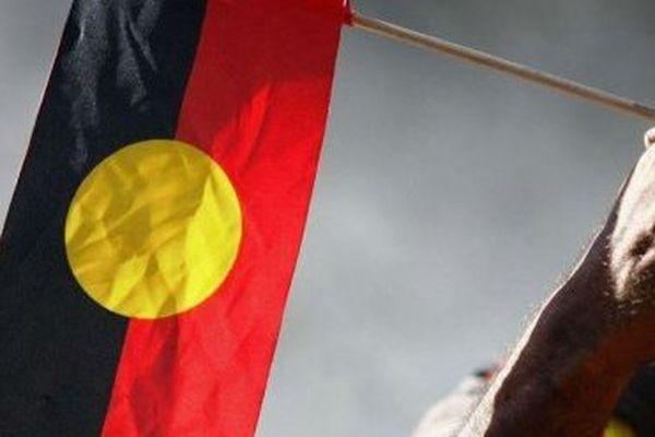 drapeau aborigene