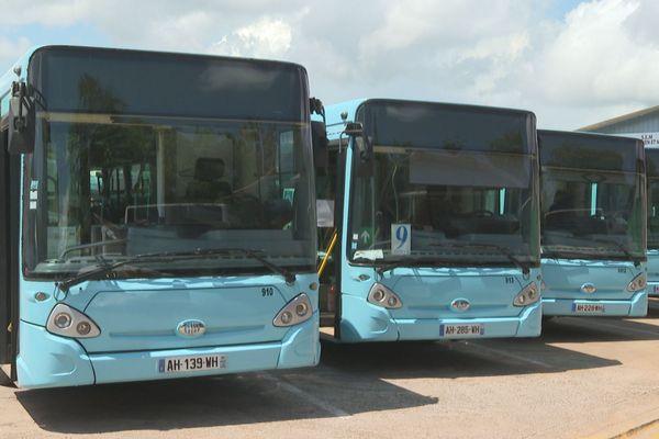 Les bus à l'arrêt depuis 10 jours (21 septembre)