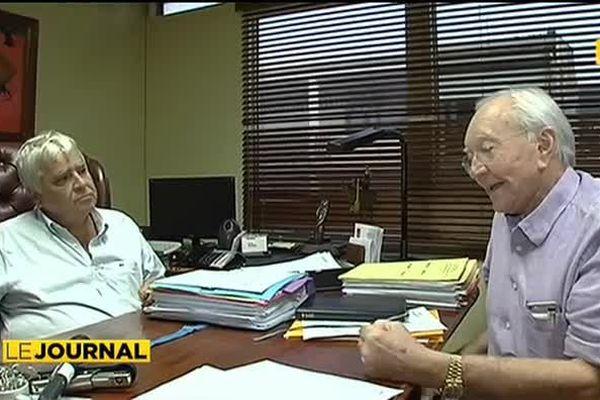 Gaston Flosse dénonce un acharnement judiciaire
