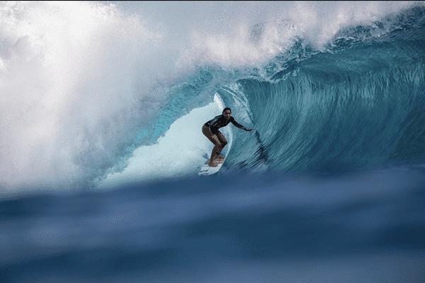 Vahine Fierro a surfé le meilleur tube de l'année