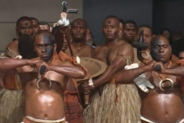 COP 23 : cérémonie d'ouverture à la façon fidjienne