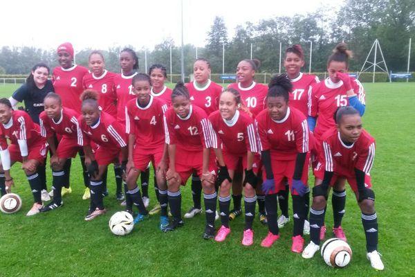 Football féminin : La Martinique joue la demi-finale du championnat d'Europe scolaire