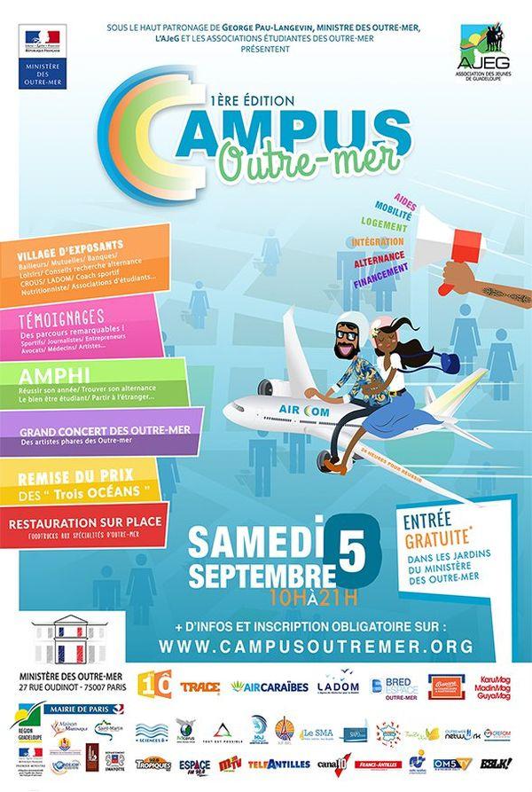 """""""Campus Outre-mer"""" : une journée pour aider les nouveaux étudiants ultramarins à faire leur rentrée"""
