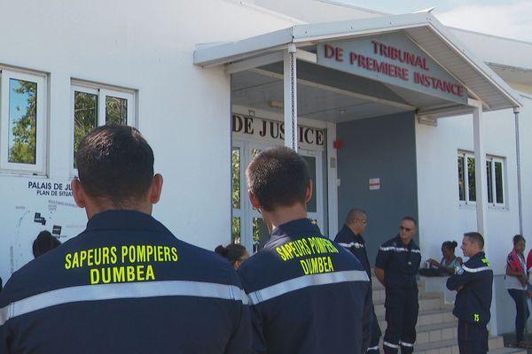 Pompiers de Dumbéa devant le tribunal