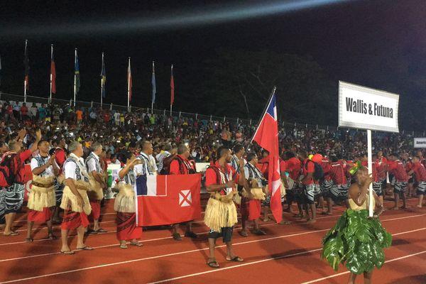 Wallis et Futuna à la cérémonie d'ouverture des 10e mini jeux du Pacifique au Vanuatu