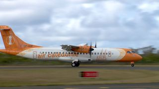 Avion d'Aircal à l'aérodrome de La Roche, 8 octobre 2019