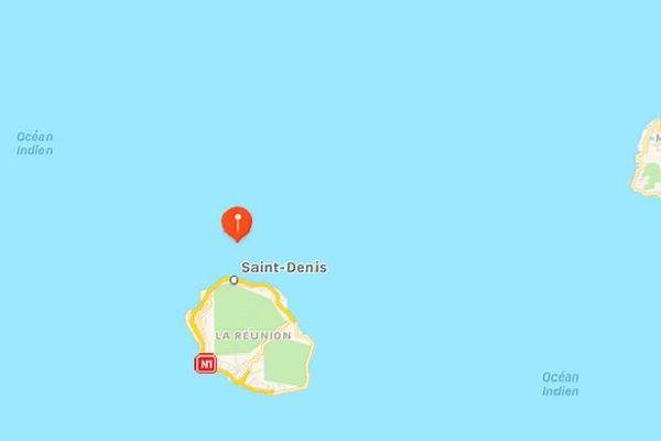 Carte point séisme 4,4 R 21 septembre 2020