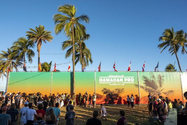Hawaiian Pro : Michel Bourez qualifié pour les quarts