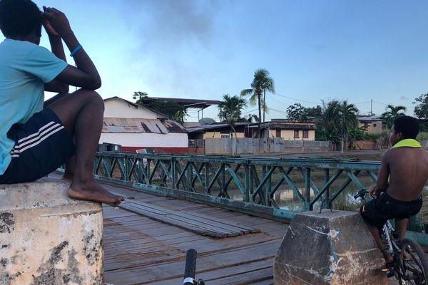 Pont îlet Malouin à Cayenne
