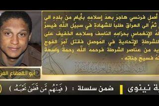 Ce jeune martiniquais est mort, auteur d'un attentat suicide en Irak, au nom du jihad.