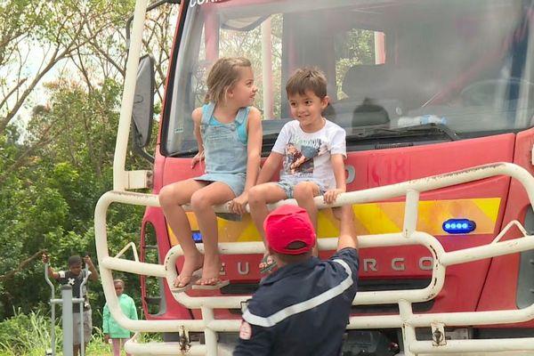 Première journée nationale des pompiers en Calédonie, 12 septembre 2020 à La Foa,