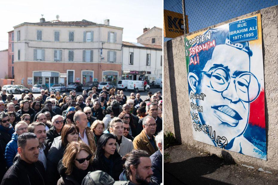 25 ans après le crime raciste du Franco-Comorien Ibrahim Ali, Marseille se souvient - Outre-mer la 1ère
