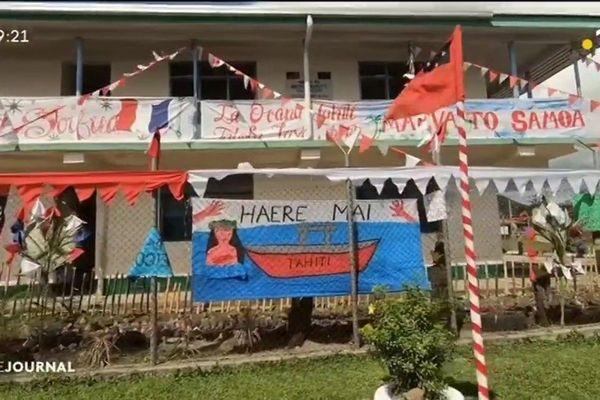 Jeux du pacifique : Les samoans aiment le sport