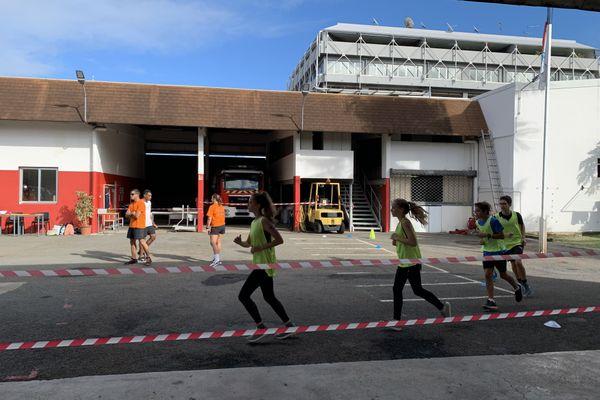 Tests jeunes sapeurs-pompiers
