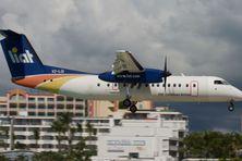 Un avion de la compagnie régionale, LIAT.