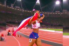 La sprinteuse Mandy François-Elie