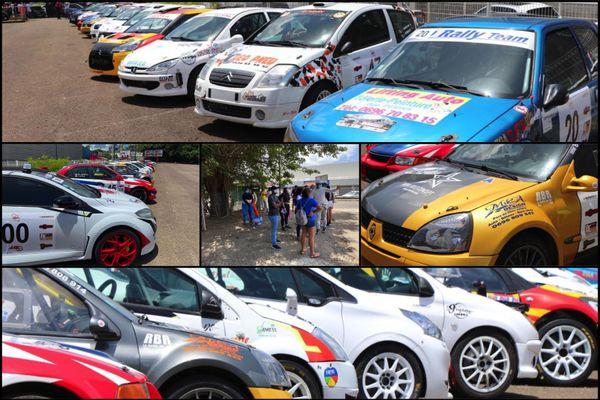 Montage véhicules rallye