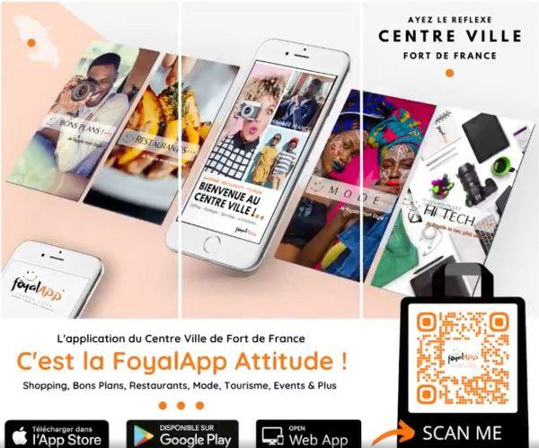 Visuel application Foyal App