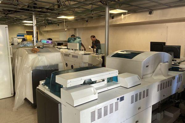 opération maintenance laboratoire Bio AUstral
