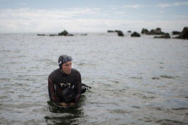 Benoît Lecomte traversée à la nage du Pacifique