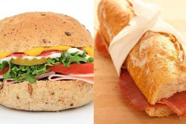 Les français préfèrent désormais le hamburger au traditionnel casse-croûte jambon beurre