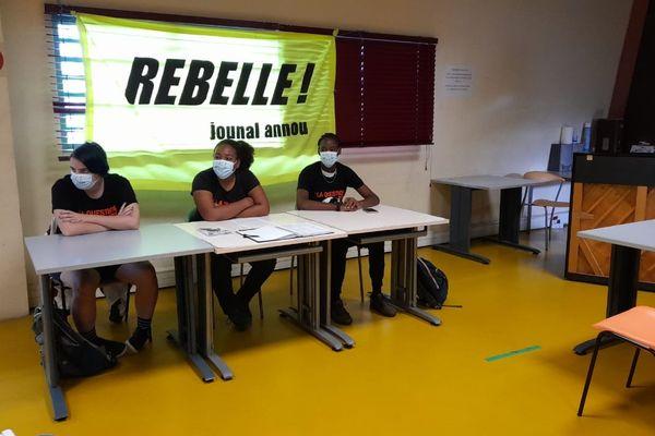 Conférence de presse journal Rebelle