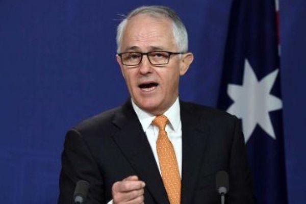 Malcom Turnbull. Australie