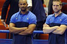 Didier Dinart et Guillaume Gille