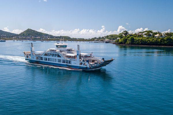 La barge de Mayotte