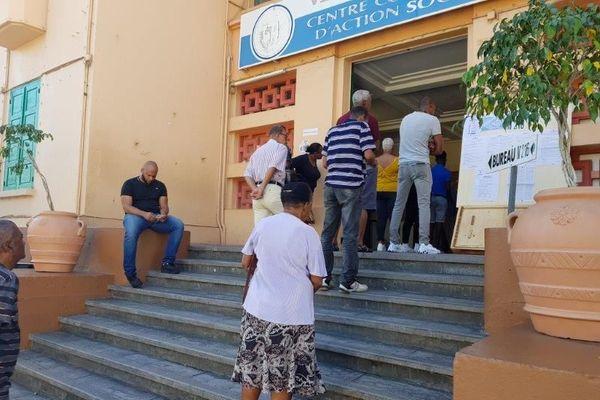 Bureau d'élections aux Abymes