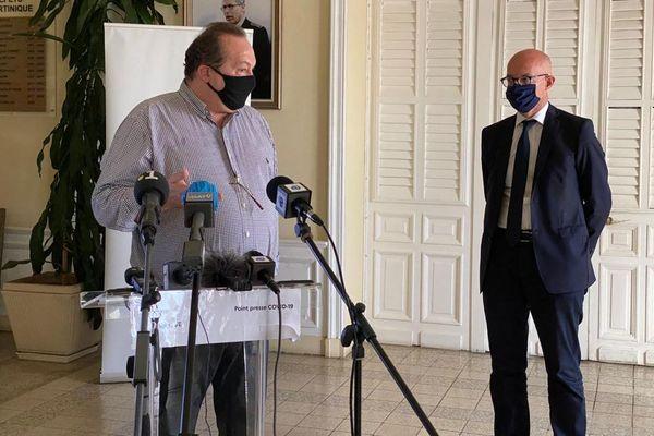 Jerome Viguier (ARS) conférence de presse