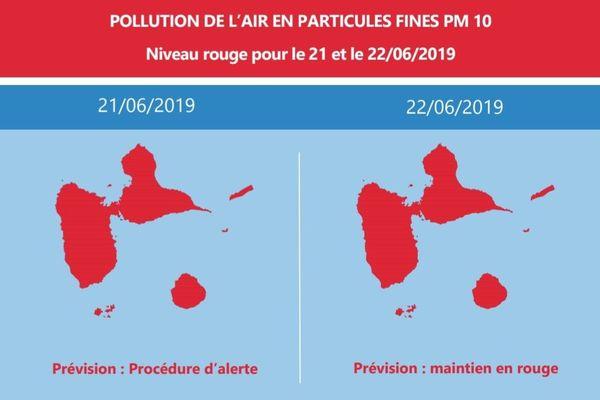 Pollution de l'air : alerte rouge