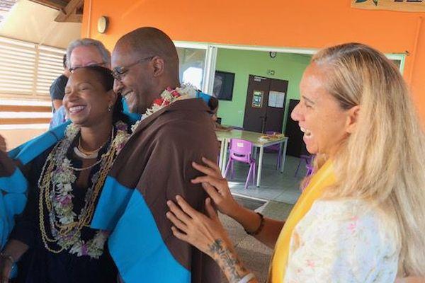 Nadine Félix et Jean Yves Alais quittent la Polynésie pour St Pierre et Miquelon